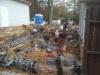 Massonry work on Foundation