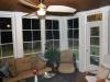 Oakridge three season room interior